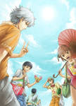 The summer days of Gintama