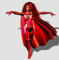 Scarlet Witch - Alan Davis Version by DeordicTheWide