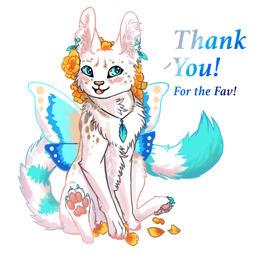 Thank you! Fav Graphic by WhiteGoldInk