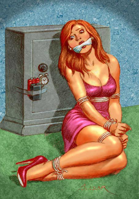 Damsels in distress erotic comic