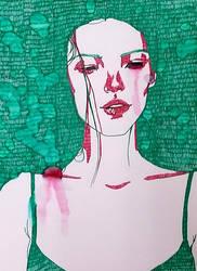 Pretty when you cry by ZeliaBlaga
