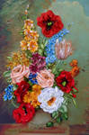 Vintage flowers by TetianaKorobeinyk