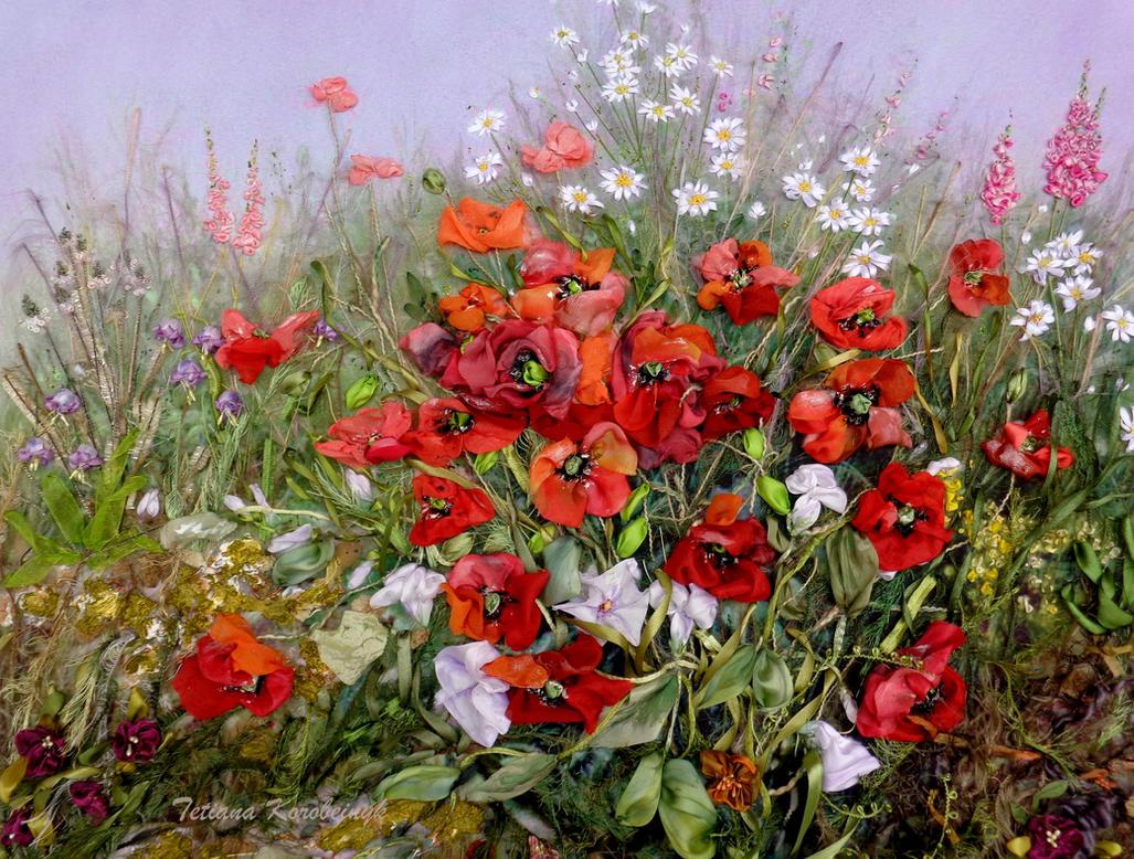 Poppies by TetianaKorobeinyk