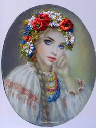 Ucrainian girl by TetianaKorobeinyk