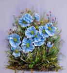Blu flowers