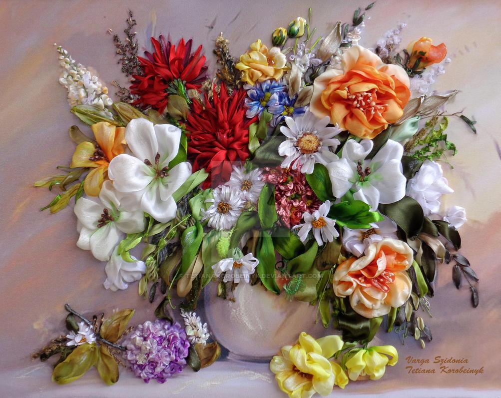 Flowers in vase by tetianakorobeinyk on deviantart flowers in vase by tetianakorobeinyk reviewsmspy
