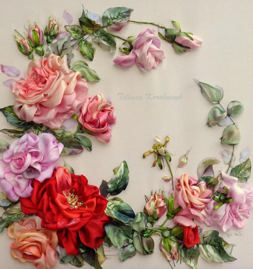 Tenderness of roses by TetianaKorobeinyk