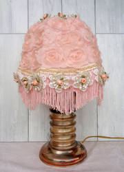 Textile lampshade
