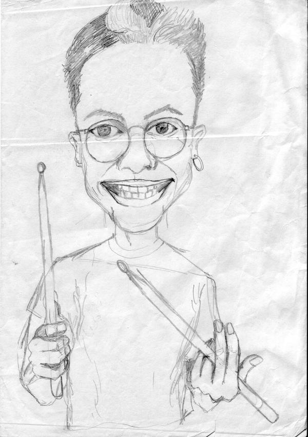 Funny self-portrait by Fred-Saccoccio
