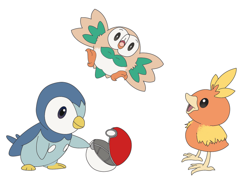 download pokemon starters piplup - photo #18
