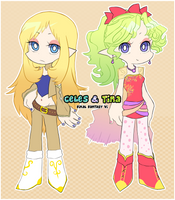 Celes and Terra PSG style