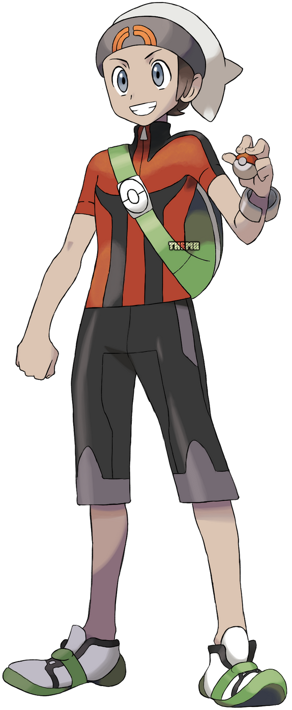 Brendan Pokemon Trainer