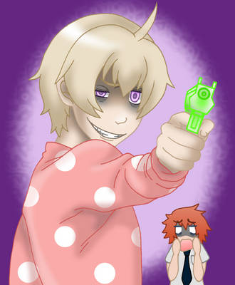 Trigger-Happy Haru by xxx-TeddyBear-xxx