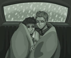 Cold Night in the Impala by xxx-TeddyBear-xxx
