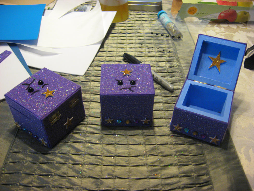 Lumpy Space Princess Boxes by xxx-TeddyBear-xxx
