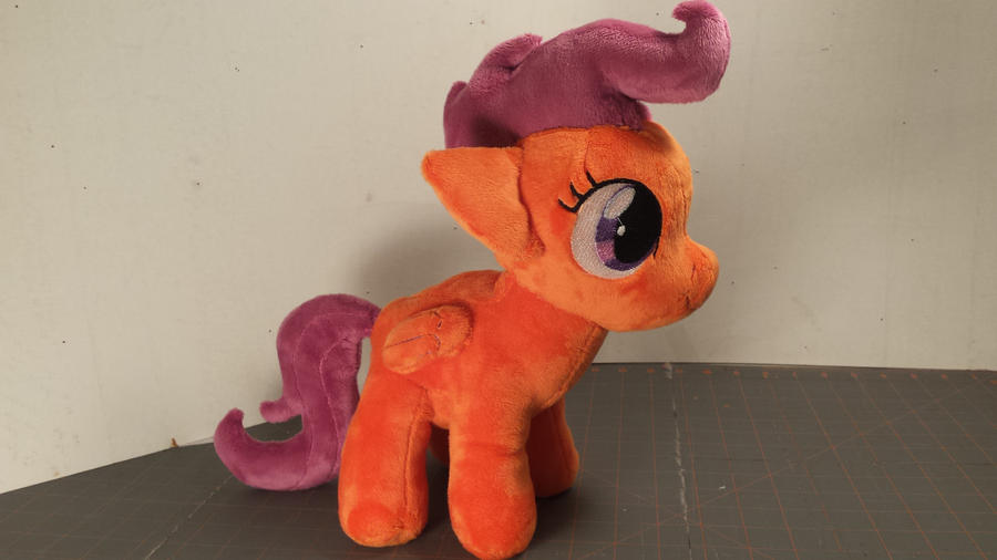 Kain's Scootaloo plush by Fanglore-and-Kain