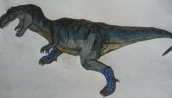concept art for my own dinosaur sculpture by jzilla-studio