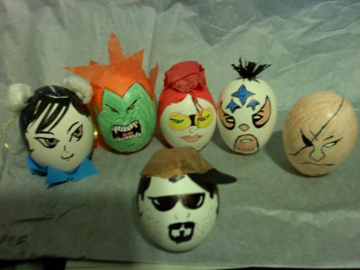 Street Fighter Easter Eggs by luzglez85