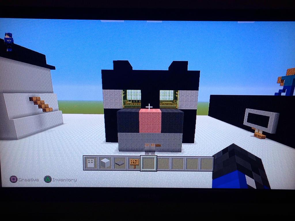 Minecraft Cat House By Sharpclap290 On Deviantart