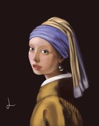 Fanart Opera di Jan Vermeer by LorielDesign