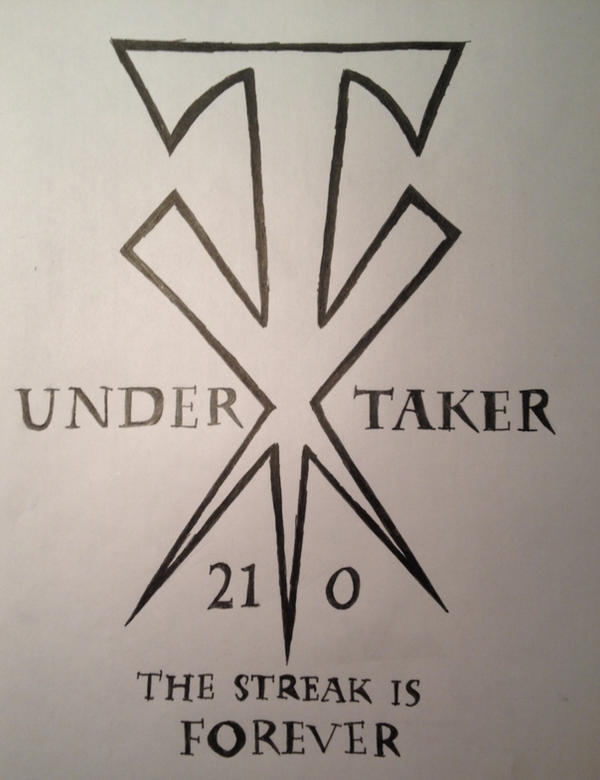 undertaker cross symbol