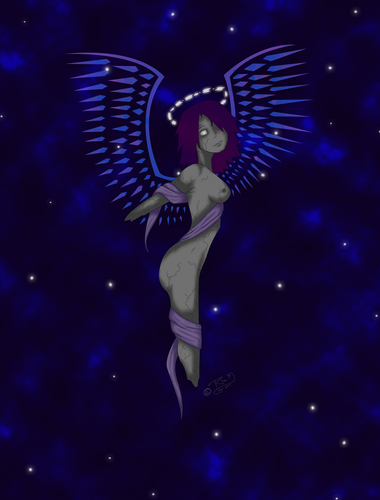 Angel of the galaxy by gogosweden