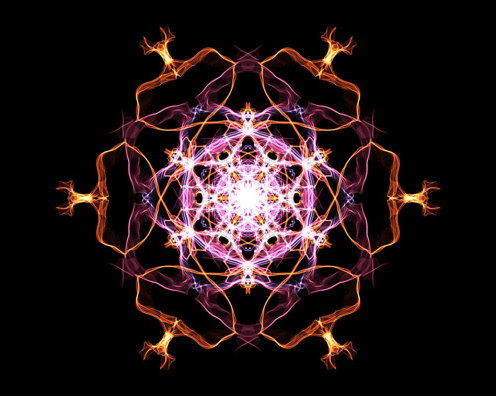 WeaveSilk - Flower #1 by gogosweden