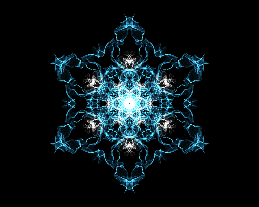 WeaveSilk - Snowflake #1 by gogosweden