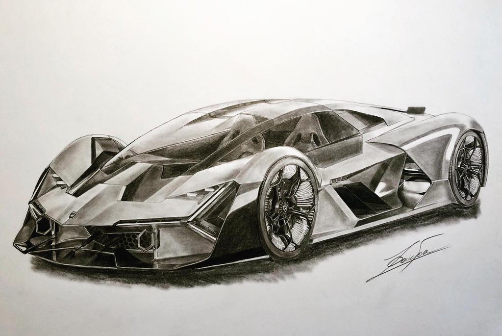 Lamborghini Terzo Millennio By Bio Girl91 On Deviantart