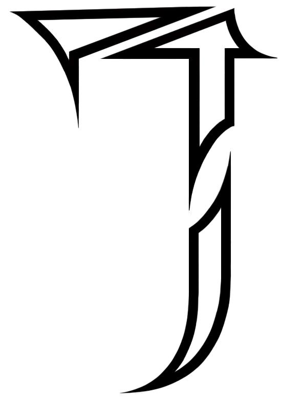Tattoo : U0027Style Alfabetu0027 : J By ...