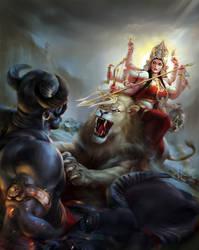 Durga by TanmayMandal