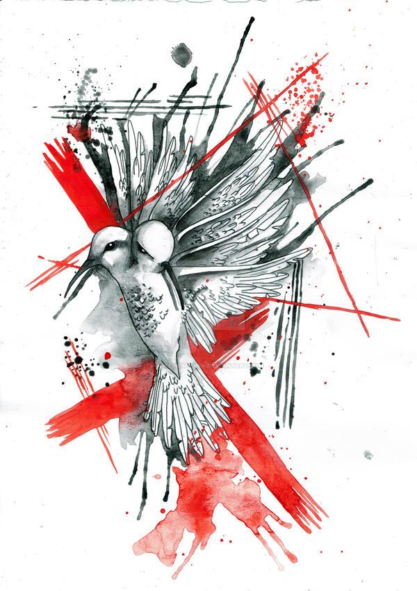 Humming Bird by FaerieMajikk