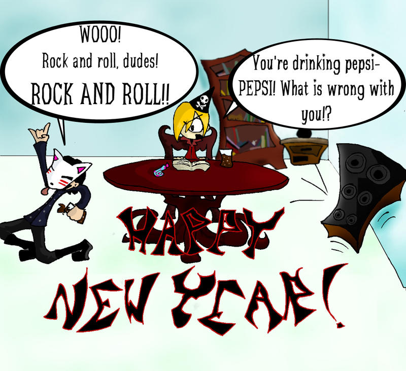 Happy New Years By Pumpkin-Rain On DeviantArt