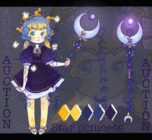 STAR PRINCESS ADOPT | AUCTION [OPEN] by cyclopzzeye