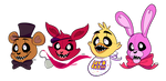Five nights at freddy's by AskPrincesMultifruit