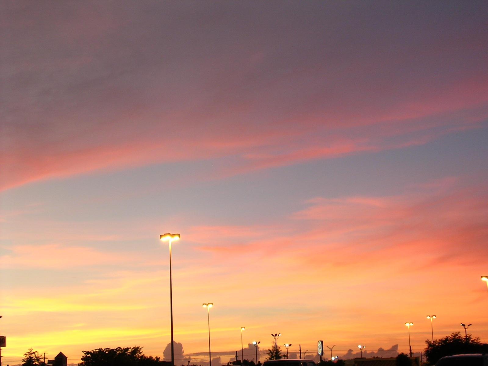 Sunset Mall by osoroco