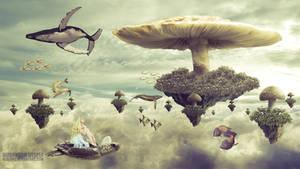 Mushroom Utopia by herlyks