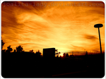 Sunset In Sollentuna