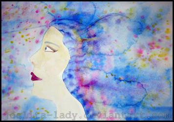 Blue Hair by Joalita-lady