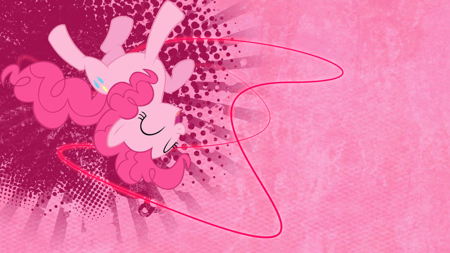 Crazy Pinkie Wallpaper by KellyPony