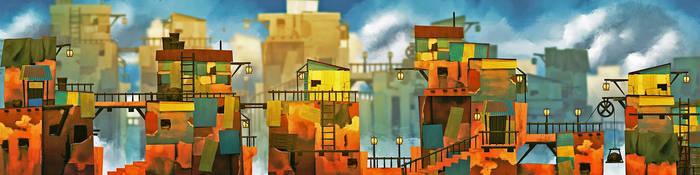 Shanty town lineup by SEBASEBS