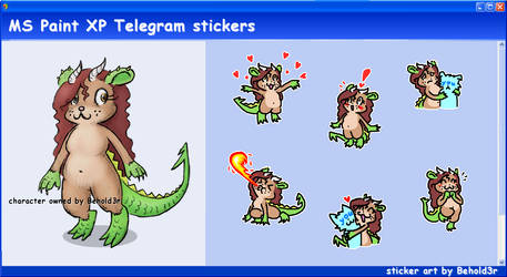 MS Paint Telegram stickers (2)
