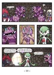 Gardevoir, a Valiant Knight - page 10 by Beholderr