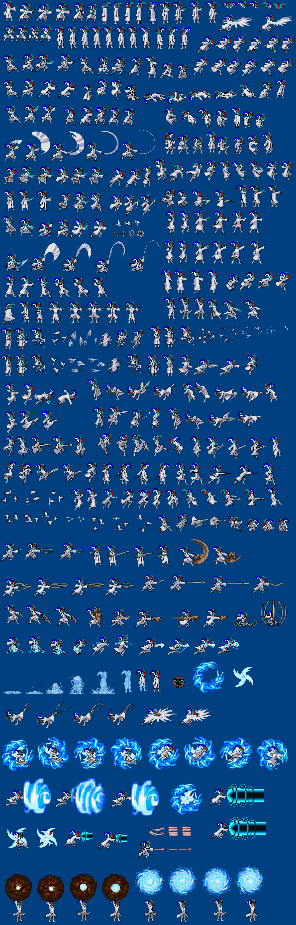 Yongso the greninja sprite sheet by funnytime77 by kamikazethc on