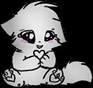 Kitten LineArt Greyscale. by CrystalWolf123
