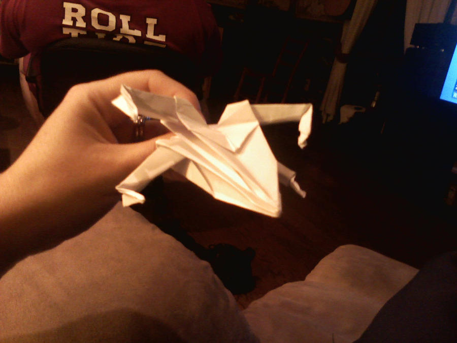 origami xwing 2 by wallysgirl on deviantart