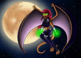 MGC Entry: Starfire of Tamaran by BlueYuni-chan