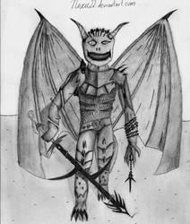 Insane demon dude