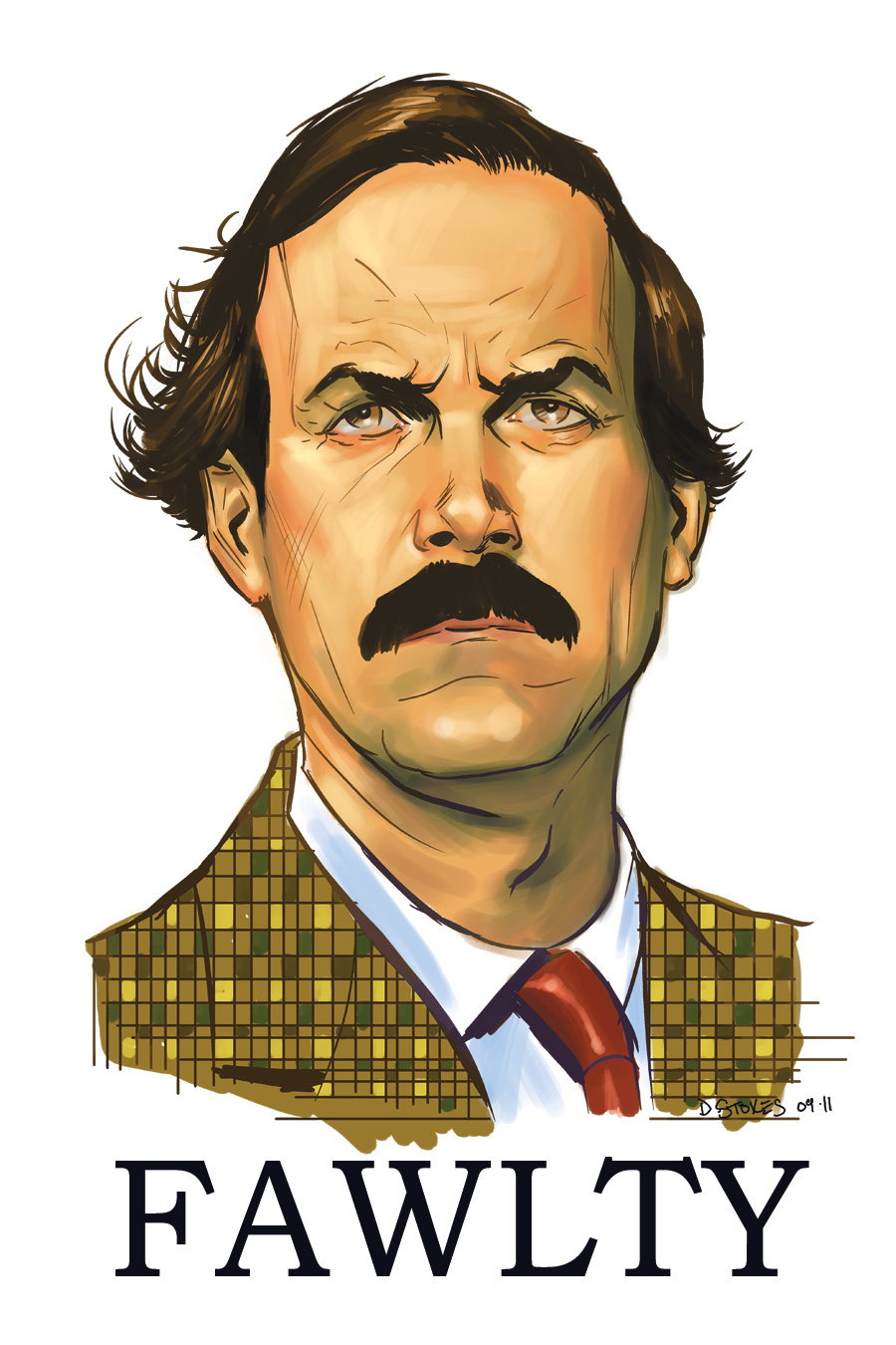 Fawlty Towers: Basil Fawlty by stokesbook - fawlty_towers__basil_fawlty_by_stokesbook-d48xxbk