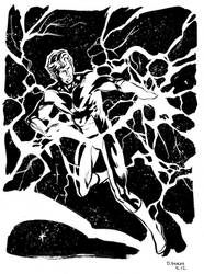 Lightning Lad by stokesbook